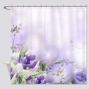 Beautiful Floral Shower Curtain