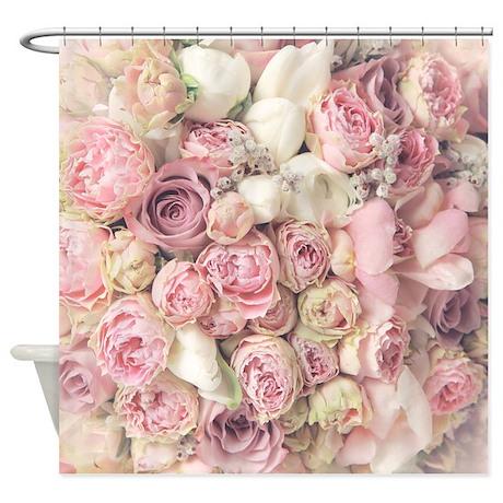 Roses Shower Curtain By BestShowerCurtains