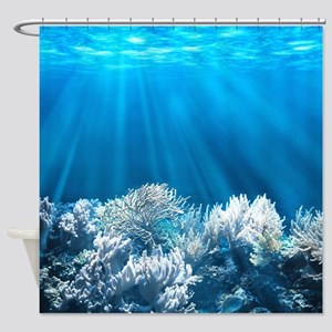 Tropical Reef Shower Curtain