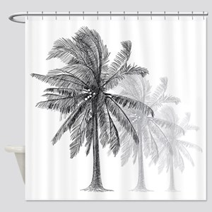 Tree Silhouette Shower Curtains Cafepress