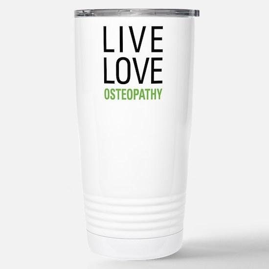 Osteopathy Stainless Steel Travel Mug