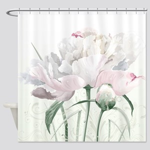 Beautiful Peony Shower Curtain