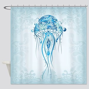 Kids Ocean Life Shower Curtains