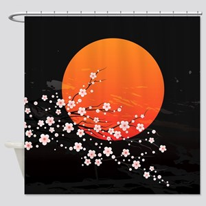 Asian Night Shower Curtain