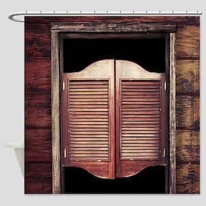 Saloon Doors Shower Curtain