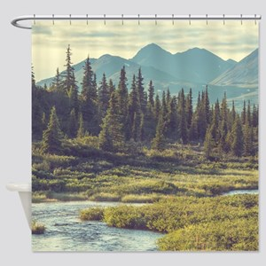 Mountain Meadow Shower Curtain