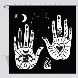 Mystic Hands Shower Curtain