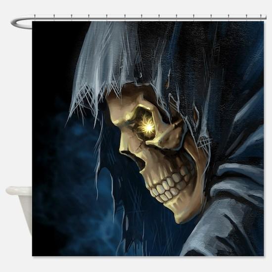 Grim Reaper Shower Curtain