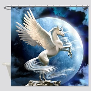 Magical Unicorn Shower Curtain