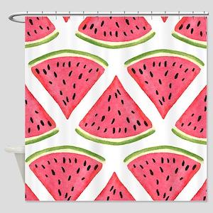 Watermelon Shower Curtain