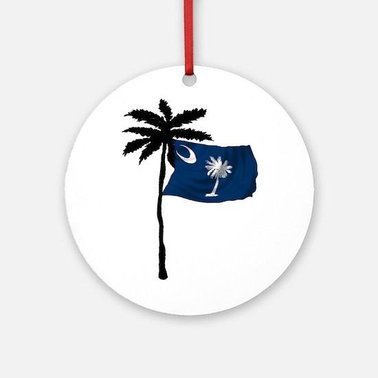 SOUTH CAROLINA NOW Round Ornament