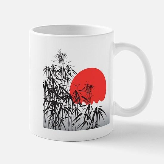 Asian Sunset Mugs