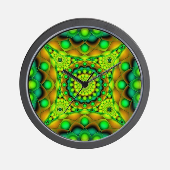 Tribal Mandala 3 Wall Clock