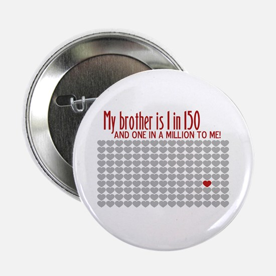 Autism - 1 in 150 Button