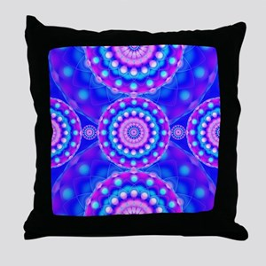 Tribal Mandala 4 Throw Pillow