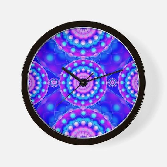 Tribal Mandala 4 Wall Clock