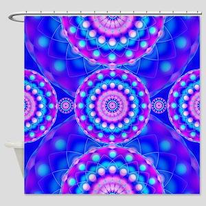 Tribal Mandala 4 Shower Curtain
