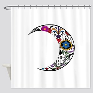 SUGARY CRESCENT Shower Curtain