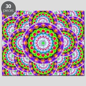 Tribal Mandala 5 Puzzle