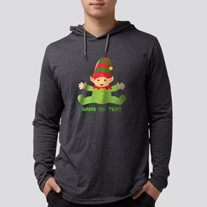 Elf in Training Mens Hooded Shirt