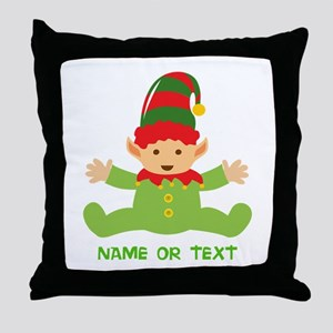 Elf in Training Throw Pillow