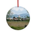 View of Tabio Ornament (Round)