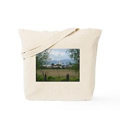 View of Tabio Tote Bag