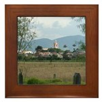 View of Tabio Framed Tile