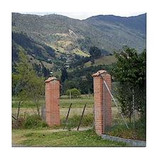 Brick Gate Tile Coaster