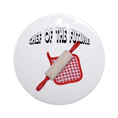 Baking Chef Of The Future Ornament (Round)