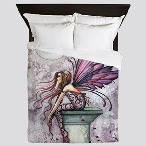 The Lookout Fairy Fantasy Art Queen Duvet