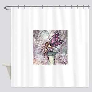 The Lookout Fairy Fantasy Art Shower Curtain