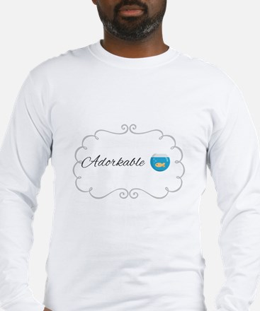 Adorkable Long Sleeve T-Shirt