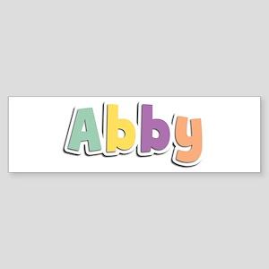 Abby Spring14 Bumper Sticker