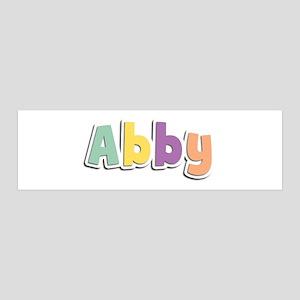 Abby Spring14 36x11 Wall Peel