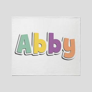 Abby Spring14 Throw Blanket