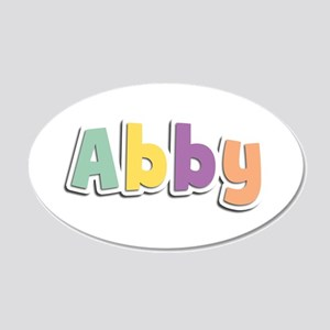 Abby Spring14 20x12 Oval Wall Decal