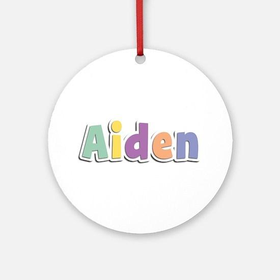 Aiden Spring14 Round Ornament