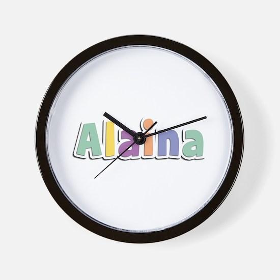 Alaina Spring14 Wall Clock