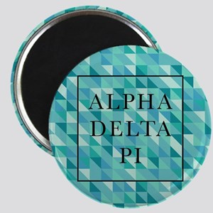 Alpha Delta Pi Geometric Magnet