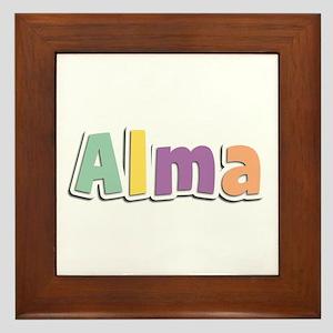 Alma Spring14 Framed Tile