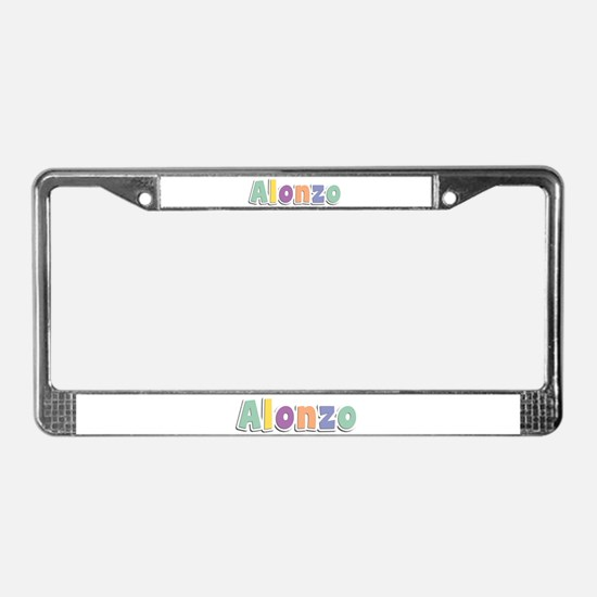 Alonzo Spring14 License Plate Frame