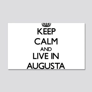 Keep Calm and live in Augusta Wall Decal