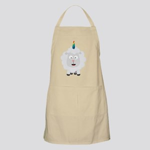 Unicorn Sheep with rainbow Cffz8 Light Apron