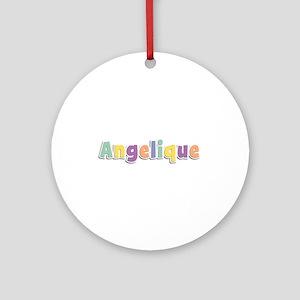 Angelique Spring14 Round Ornament