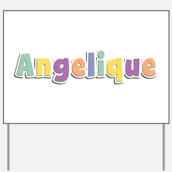 Angelique Spring14 Yard Sign