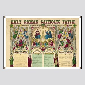 Holy Roman Catholic Faith Banner