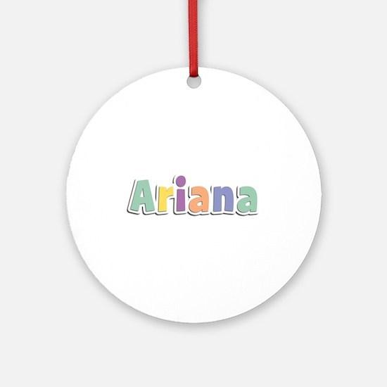 Ariana Spring14 Round Ornament
