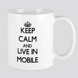 Keep Calm and live in Mobile Mugs