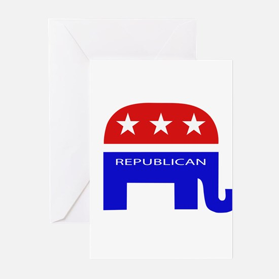 GOP Elephant Greeting Cards (Pk of 10)
